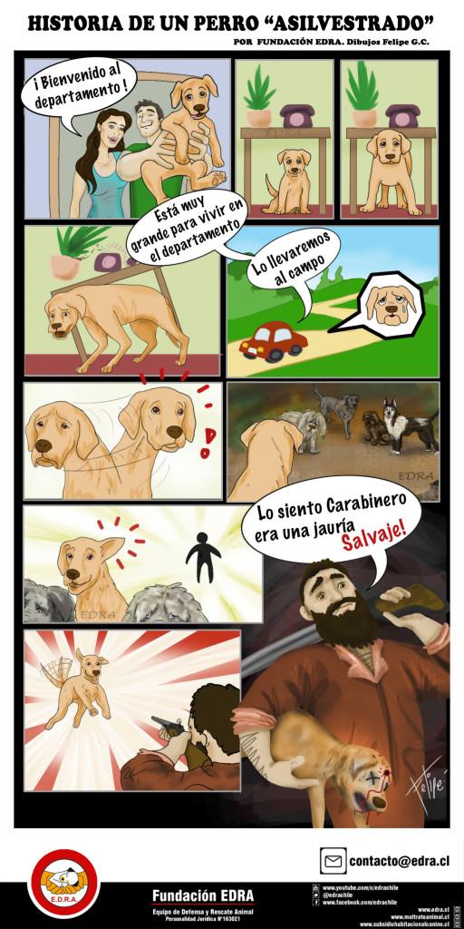 comic Historia de un perro asilvestrado 1